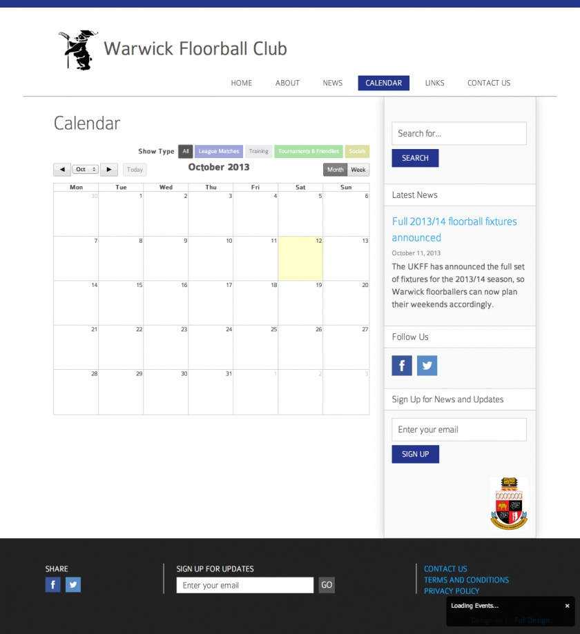 Warwick Floorball