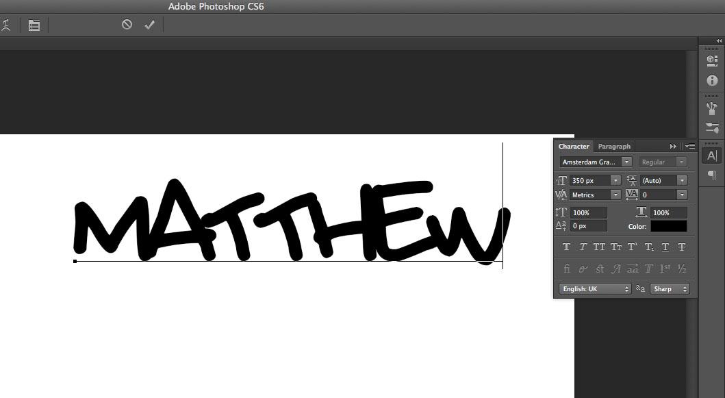 Graffiti Text Effect - Photoshop | Full Design | Tutorials
